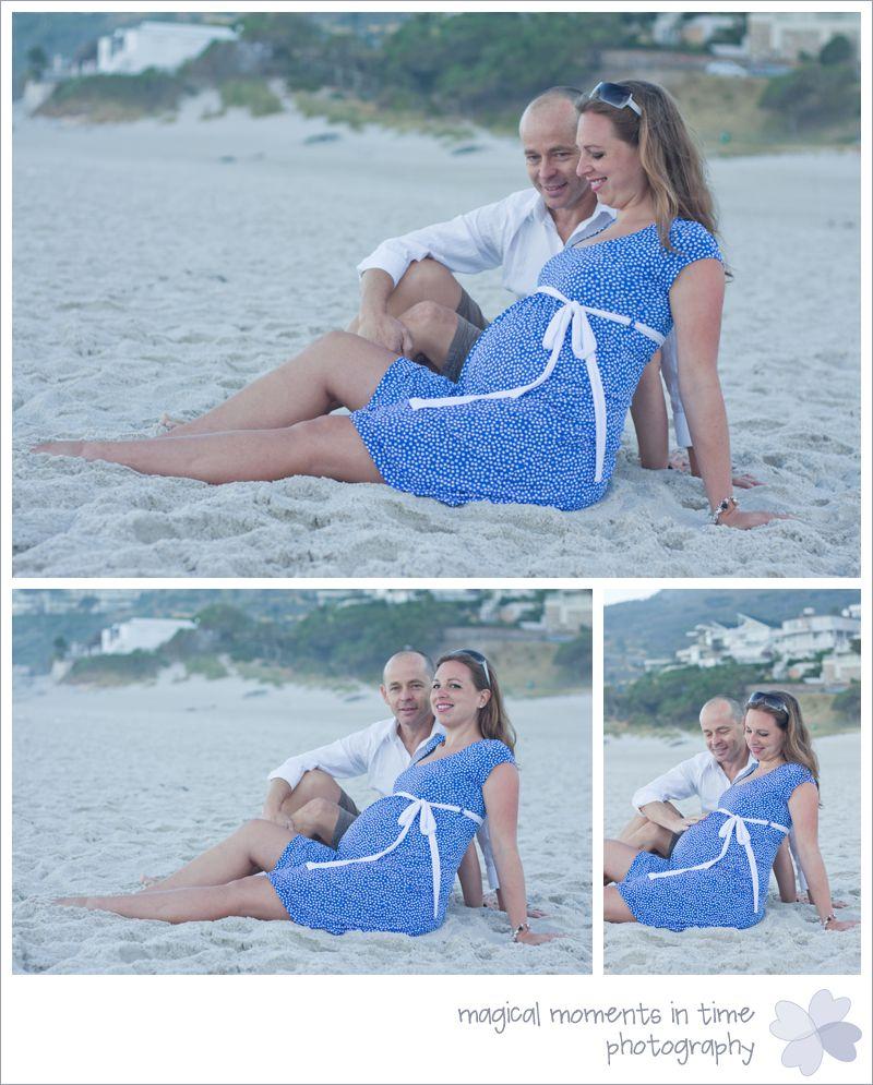 maternity photos on camps bay beach