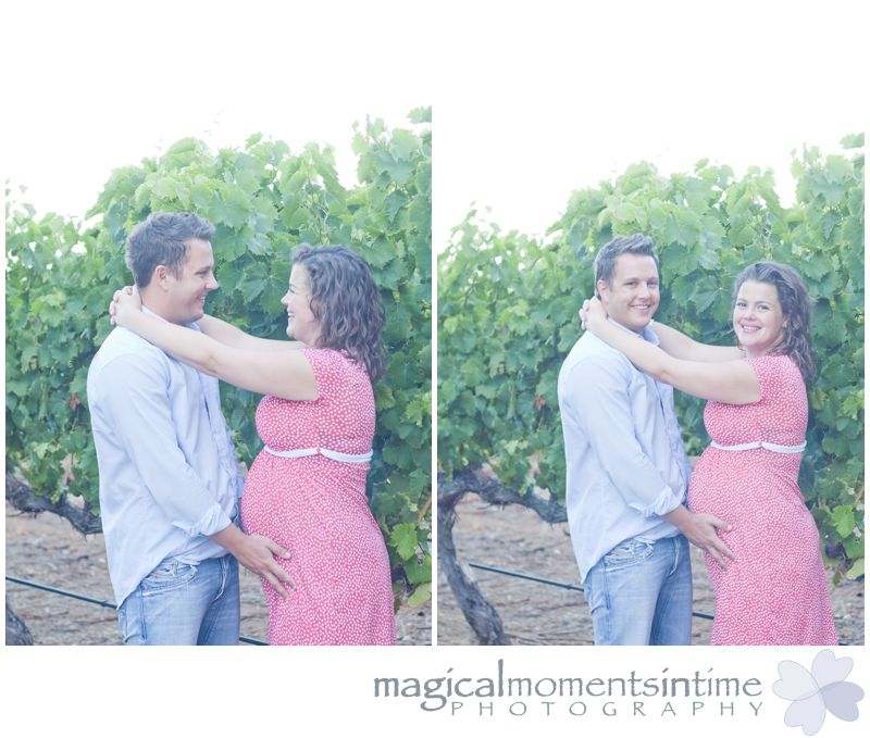 groot constantia cape town materntiy photos couple in vineyards