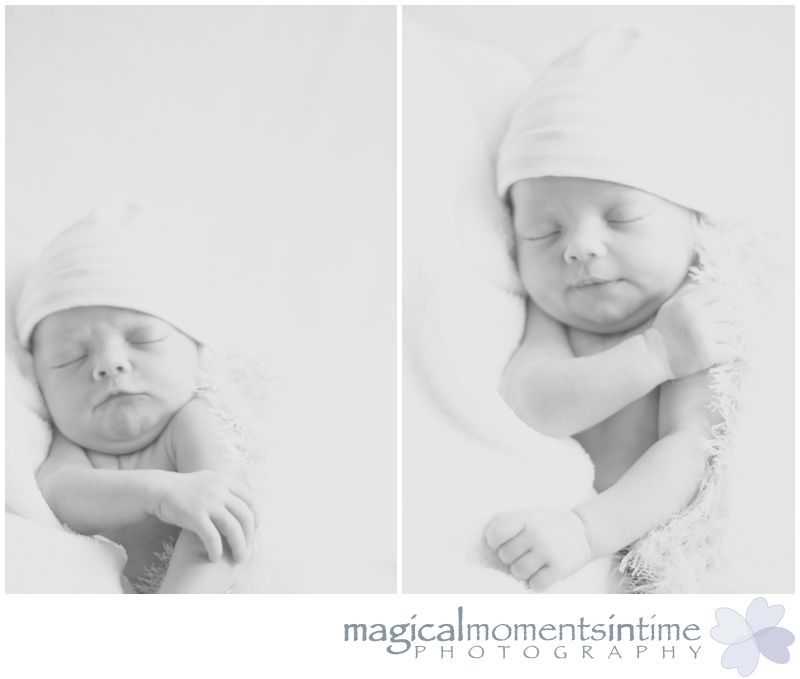 newborn photography cape town black and white images of baby boy sleeping