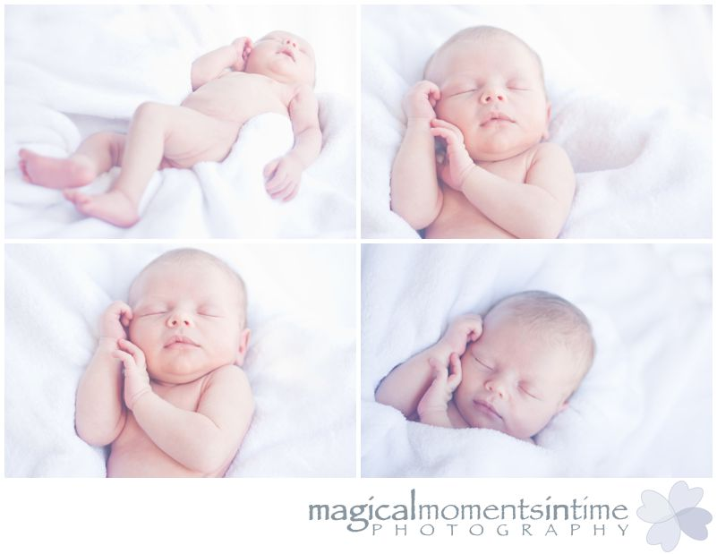 cape town baby photography newborn baby on white blanket pure fresh love