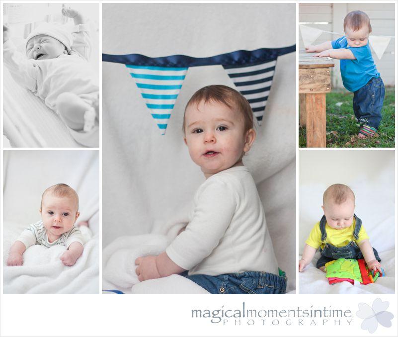 first year milestone photoshoots