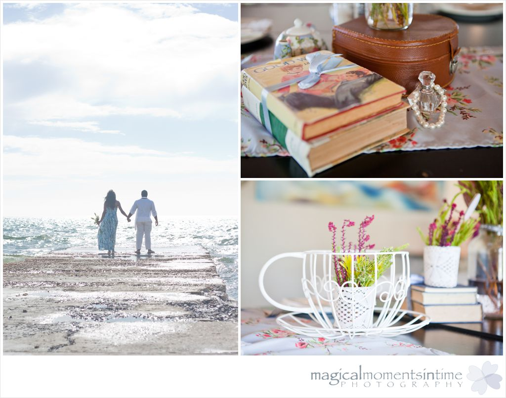 milnerton vow renewal on the beach and kitchen tea styled by bella chiara