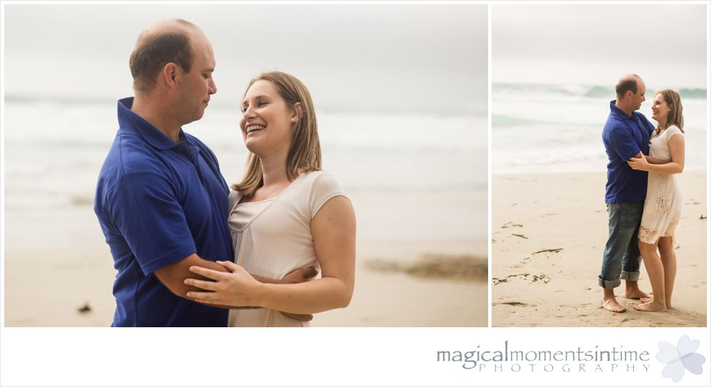 engagment couple photos on the beach