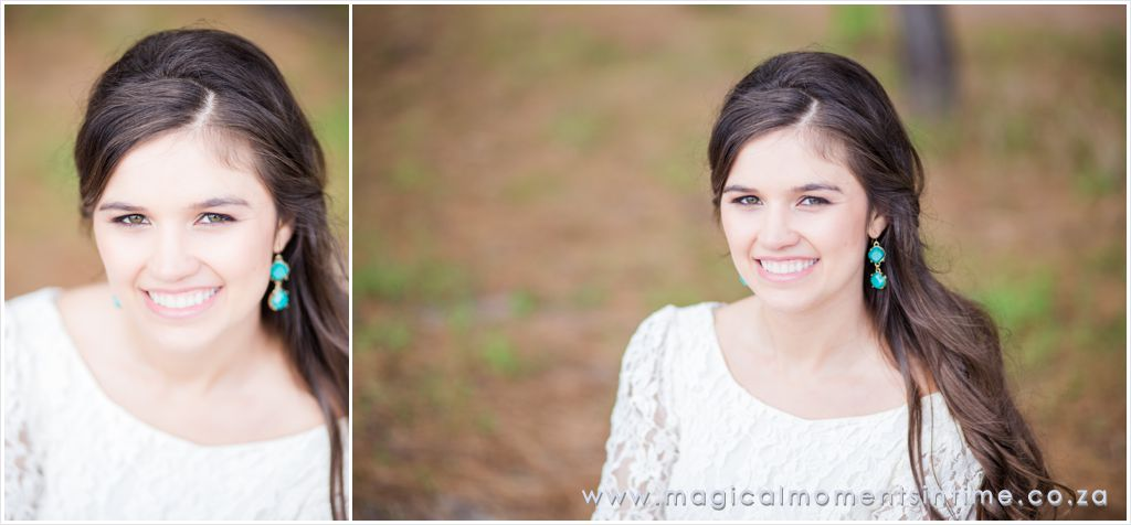 bride-to-be portraits in the forest