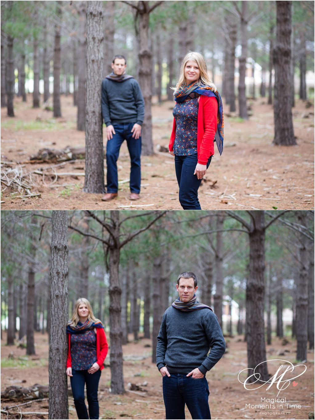 cape town forest engagement photography tokai