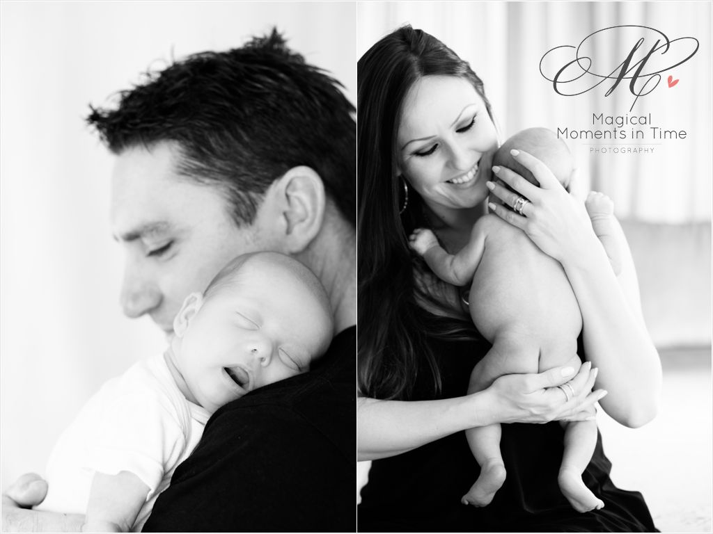 mommy and me - daddy and me - newborn portraits