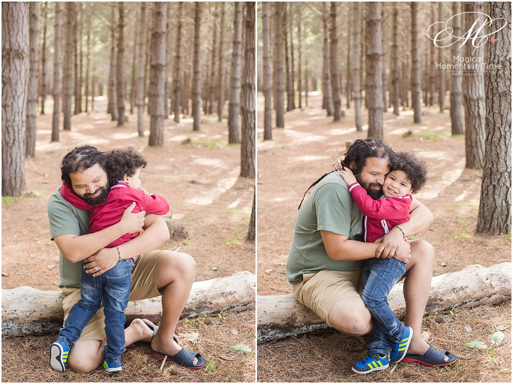 cape town family photography tokai forest daddy and me