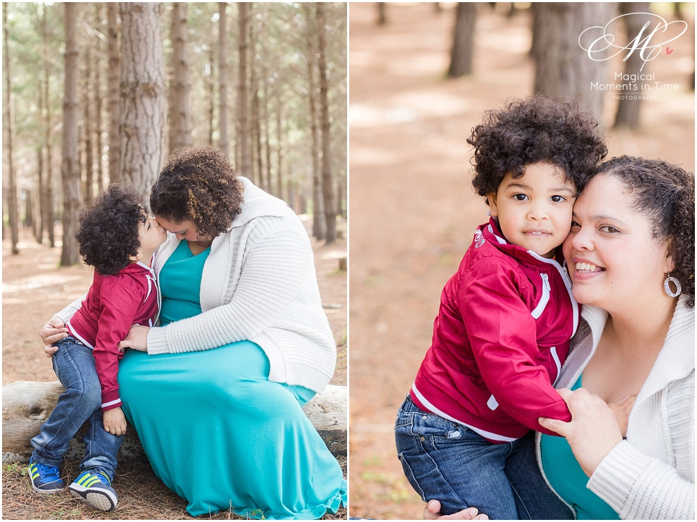 cape town family photography tokai forest mommy and me