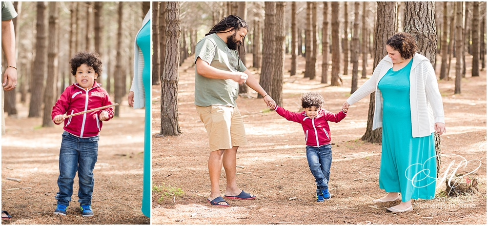 cape town family photography tokai forest holding hands