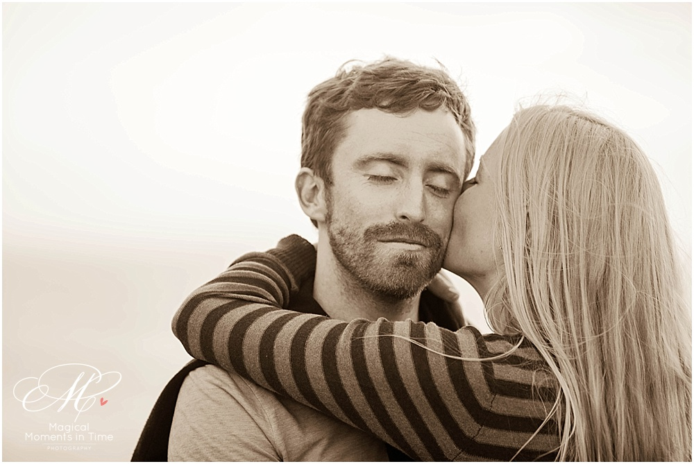 cape town engagement photography kisses from my love