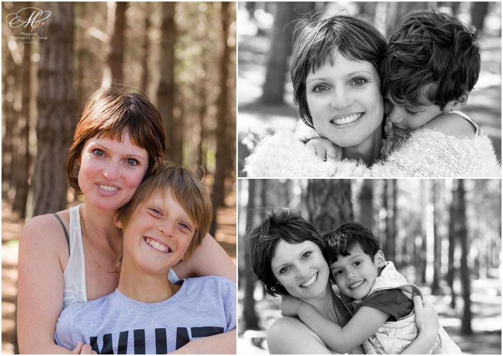 mommy and me forest photography cape town