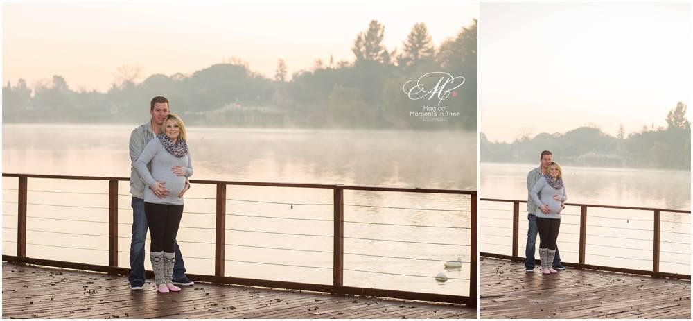 sunrise maternity photography at emmarentia dam