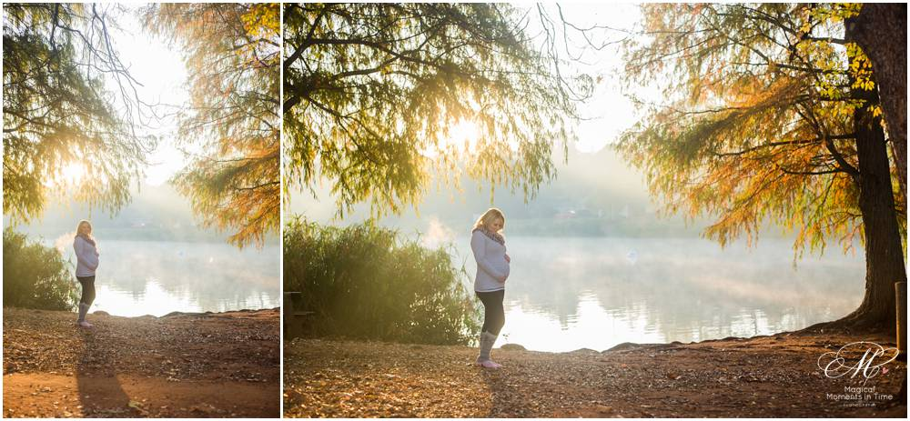 sunlight flooded maternity images